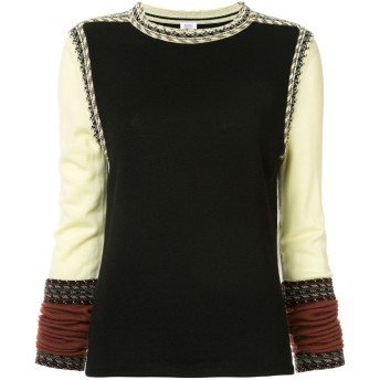 Rosie Assoulin クルーネック セーター - ブラック