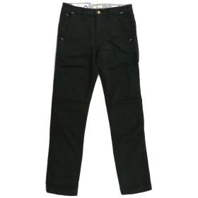 (カフィカ) Kafika スリム スウェット パンツ(ワンマイルトラウザー)ロングパンツ メンズ レディース 1(S) 11_Black-Black KFK007