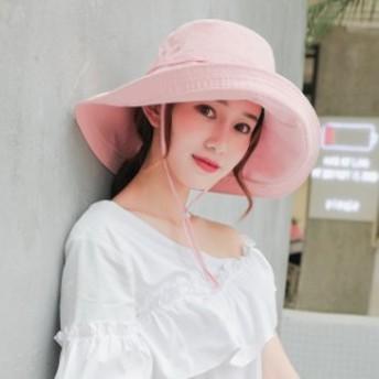 帽子 レディース UV 折りたたみ つば広 キャップ 小顔効果抜群 おしゃれ 帽子 夏 通気性抜群でオールシーズン使える UVカット ハット 紫