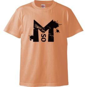 Masuo black(Tシャツ)(カラー : アプリコット, サイズ : XL)