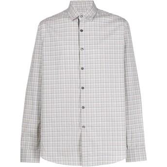 Salvatore Ferragamo チェックシャツ - ホワイト