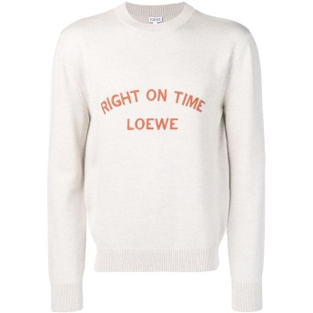 Loewe Right On Time セーター - グレー