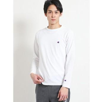 【on the day:トップス】チャンピオン/Champion クルーネック長袖Tシャツ