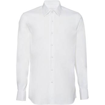 Prada ポプリン シャツ - ホワイト