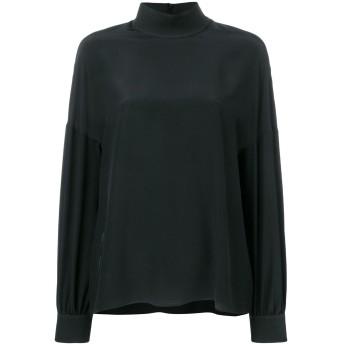 Fendi FFロゴ シルクシャツ - ブラック