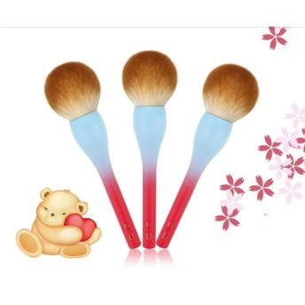 貴族のゴールドパウダーブラシ メイクブラシ 化粧ブラシ ギフト プレゼント 粉飾用ブラシ シックスプラス