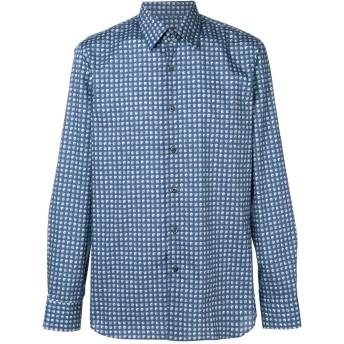 Prada ドット シャツ - ブルー