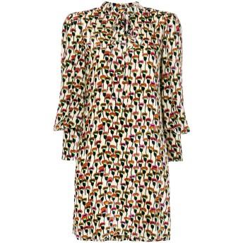 Chloé プリント シャツドレス - ニュートラル