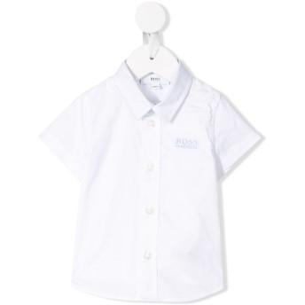 Boss Kids ポインテッドカラー シャツ - ホワイト