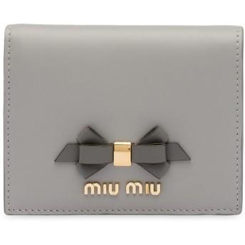 Miu Miu 財布 - グレー