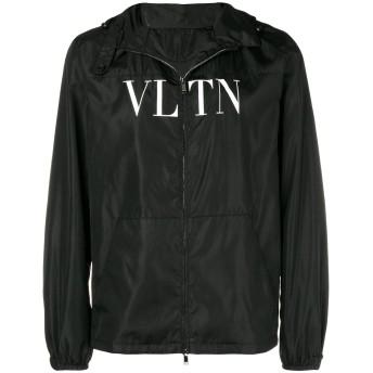 Valentino フーデッド ジップジャケット - ブラック