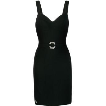 Philipp Plein ベルテッド ドレス - ブラック