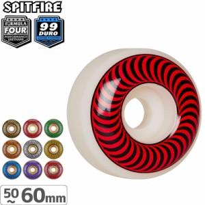 Spitfire Wheels OG Classic Skateboard Wheels 99DU White 58mm