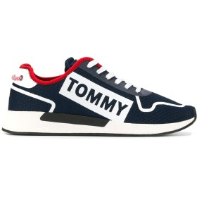 Tommy Jeans ロゴ スニーカー - ブルー