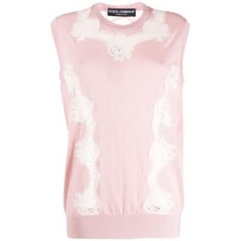 Dolce & Gabbana ノースリーブ トップ - ピンク