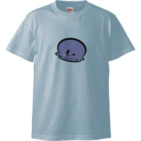 マカロンTシャツ☆(Tシャツ)(カラー : ライトブルー, サイズ : XL)