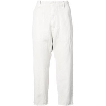 Nili Lotan slim cropped trousers - ホワイト