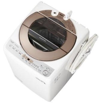 SHARP 10.0kg全自動洗濯機 ブラウン系 ESGV10DT [ESGV10DT]