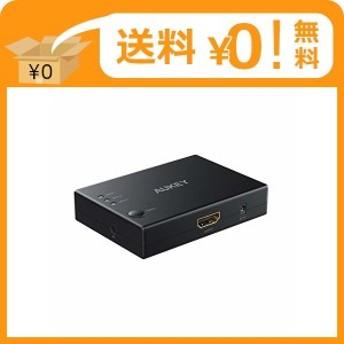 AUKEY HDMI切替器 3入力1出力 HDMI分配器/セレクター 自動切替 4K/3D対応 hdmi スプリッター リモコン付き Nintendo?Switch Xbox One