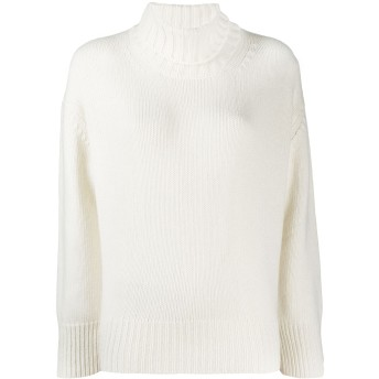 Woolrich タートルネック スウェットシャツ - ホワイト