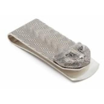 グッチ Gucci メンズ マネークリップ Cat head money clip Silver