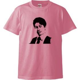 KATSUMATA MUSEUM Tシャツ(カラー : ピンク, サイズ : L)