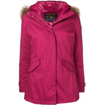 Woolrich パーカーコート - ピンク
