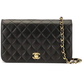 Chanel Pre-Owned ココマーク ショルダーバッグ - ブラック