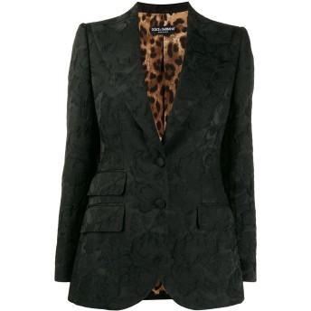 Dolce & Gabbana ジャカード ジャケット - ブラック