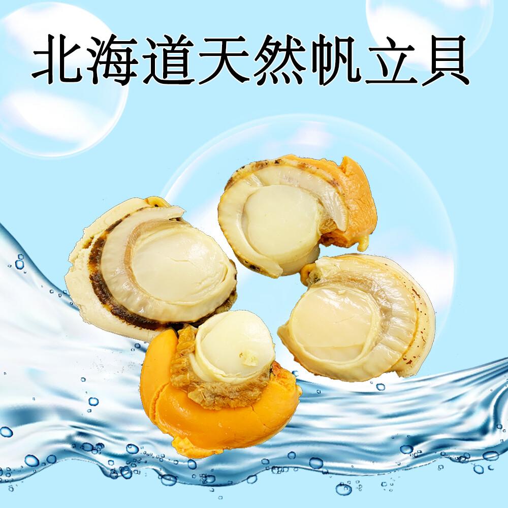 真食材本舖realshop北海道天然帆立貝(1kg)