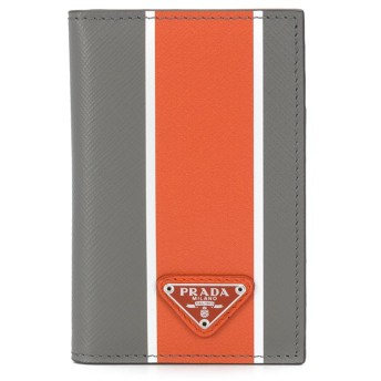 Prada 二つ折り財布 - グレー