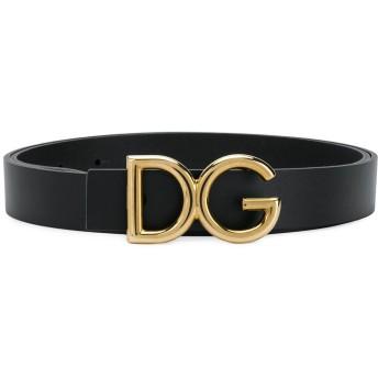 Dolce & Gabbana DGバックル ベルト - ブラック