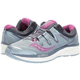 [サッカニー] レディーススニーカー・靴・シューズ Triumph ISO 4 Fog/Grey/Purple (22.5cm) B - Medium [並行輸入品]