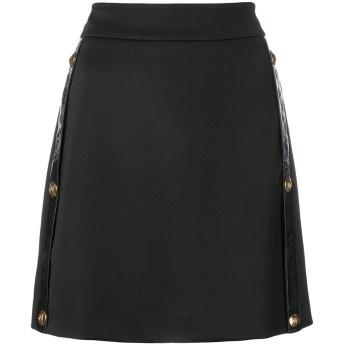 Versus Aラインスカート - ブラック