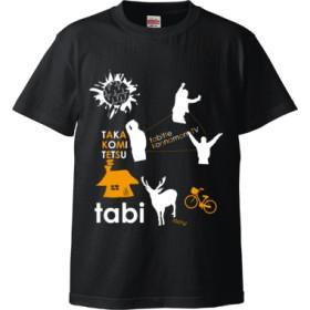 tabi Tシャツ(black)(カラー : ブラック, サイズ : S)