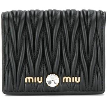 Miu Miu マテラッセ 財布 - ブラック