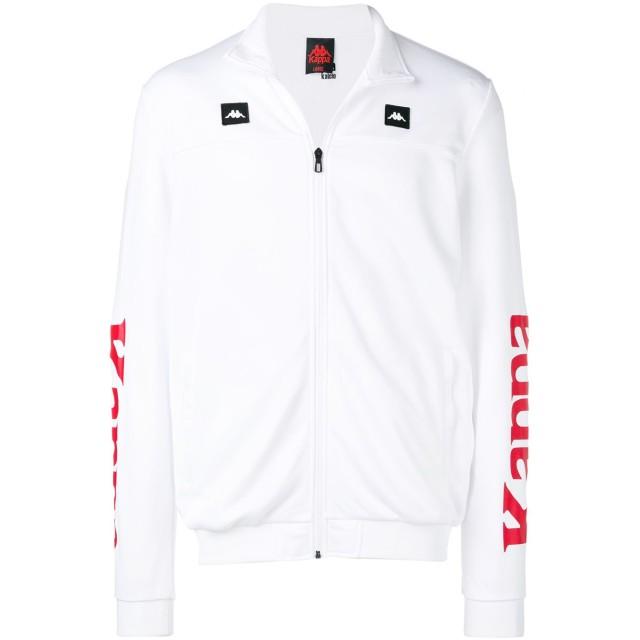 Kappa ジップアップ セーター - ホワイト
