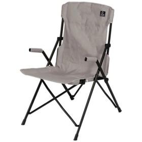 クイックキャンプ (QUICKCAMP) ハイバックチェア グレー QC-HFC アウトドア用 軽量 折りたたみ チェア 椅子 イス 集束式 コンパクト xsm