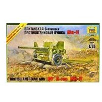 中古プラモデル 1/35 イギリス軍 QF 6ポンド対戦車砲 MKII [ZV3518]