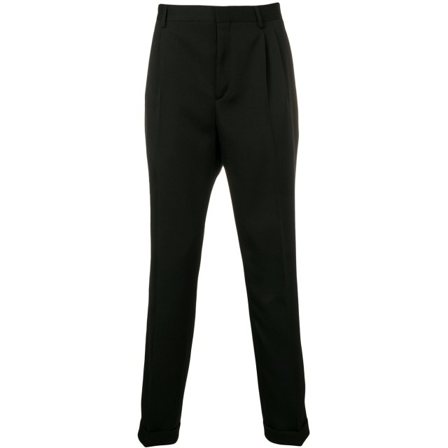 Calvin Klein 205W39nyc ストレートパンツ - ブラック