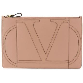 Valentino Valentino Garavani Vロゴ クラッチバッグ - ピンク