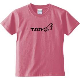 TAIYO ch キッズTシャツ(カラー : ピンク, サイズ : 140)