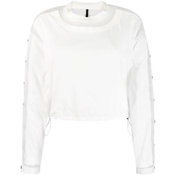 Unravel Project パネル スウェットシャツ - ホワイト