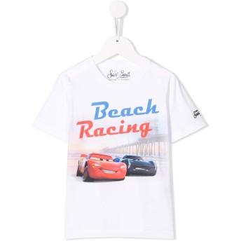 Mc2 Saint Barth Kids Beach Racing Tシャツ - ホワイト