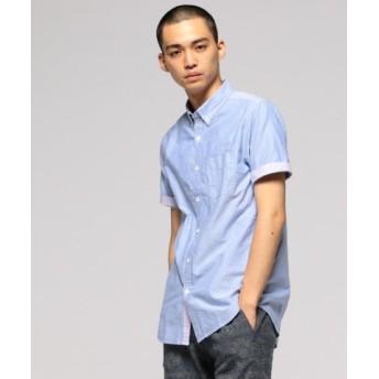 (BEAMS OUTLET/ビームス アウトレット)BEAMS/オックスフォード ショートスリーブ ボタンダウンシャツ/メンズ BLUXPUL