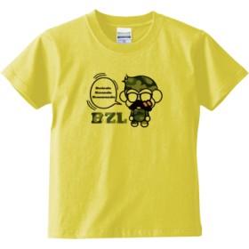 べりざるTシャツ迷彩(キッズTシャツ)(カラー : ライトイエロー, サイズ : 150)