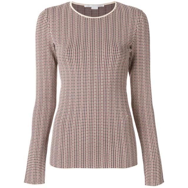 Stella McCartney チェック柄 セーター - マルチカラー