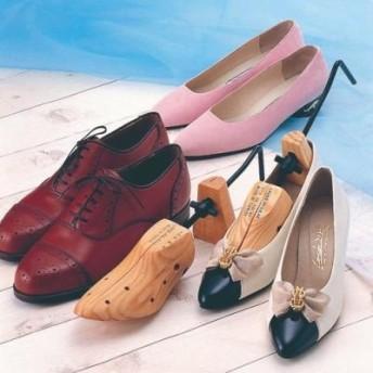 シューズ ストレッチャー 女性用 男性用 靴 くつ 木製 靴伸ばし 左右兼用 シューズストレッチャー (s-8034) きつい靴・痛い靴を調整!自分にフィットしたサイズに整えます♪