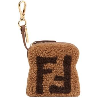 Fendi トースト バッグチャーム - ブラウン