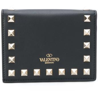 Valentino Valentino Garavani ロックスタッズ 財布 - ブラック